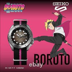 Seiko 5 Sports Naruto & Boruto Boruto Uzumaki Edition Limitée Hommes Regarder Srpf65k1