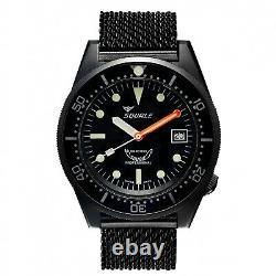 Squale 1521 Pvd 50atmos Diver 500m+bracelet International Shipping Dealer