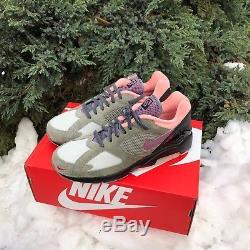 Taille Nike Air Max 180 Du Crépuscule À L'aube Exclusif Gris Purple Rose Noir Av5189-001