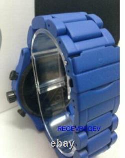 Une Nouvelle Montre Nixon Bleu A083-bleu Hommes 51-30 Chrono Cadran Véritable