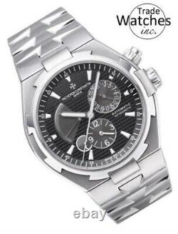 Vacheron Constantin Overseas Dual Time 47450 Mens Steel
