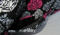 Vera Bradley Femmes Fourre-tout Vera Sac Bourse Northern Lights Rose Gris Noir