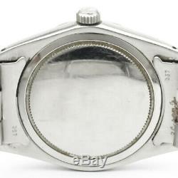 Vintage Rolex Oyster Date De Précision 6694 Winding Main Acier Mens Watch Bf340571