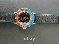 Vintage Zodiac Aerospace Gmt Lunette Pepsi