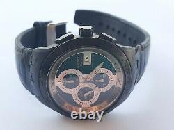 Voir La Chronographie Automatique Mens 44.5mm Swiss Made Swatch Ag 2009