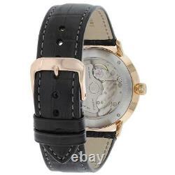 Zeppelin Hommes Lz129 Hindenburg Automatic Watch 7068-1 Nouveau