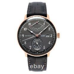 Zeppelin Men's Series Lz129 Hindenburg Automatic Watch 7064-2 Nouveau